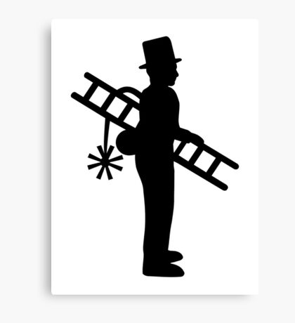 Chimney sweeper Canvas Print