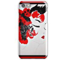 Funky Geisha Girl iPhone Case/Skin