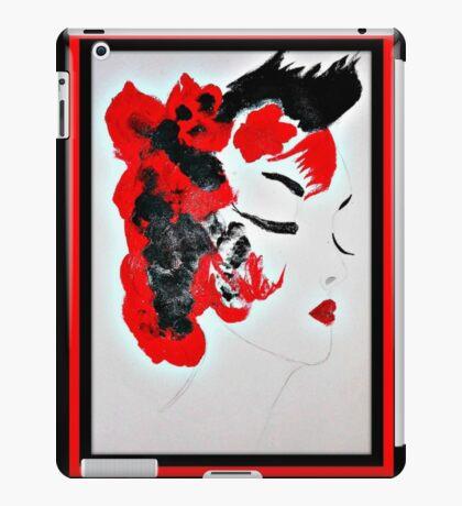 Funky Geisha Girl iPad Case/Skin