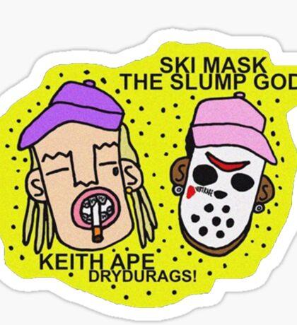 Ski Mask The Slump God Sticker