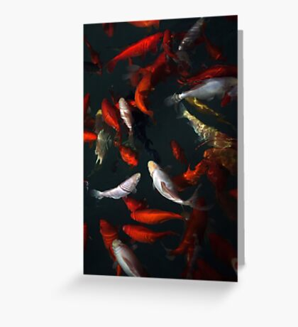 Goldfishes Greeting Card