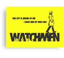 Watchmen - Rorscach Canvas Print
