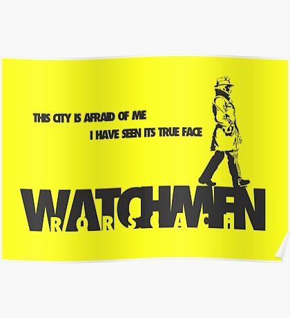 Watchmen - Rorscach Poster