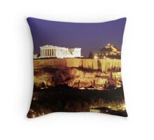 Acropolis 1 Throw Pillow