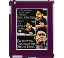 Puppet Angel Wants A New Job iPad Case/Skin