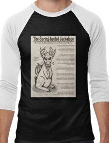 Spring-Heeled Jackalope (information) Men's Baseball ¾ T-Shirt