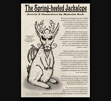 Spring-Heeled Jackalope (information) Unisex T-Shirt