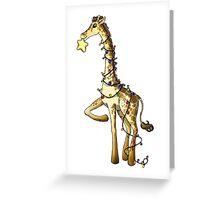 Shiny Giraffe Greeting Card