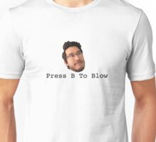Press B To Blow Unisex T-Shirt