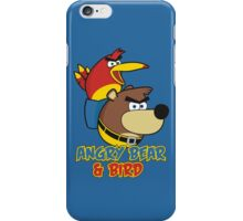 Angry Bear & Bird iPhone Case/Skin