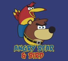 Angry Bear & Bird by byway