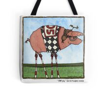 Stilt pig Tote Bag