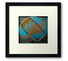 Abstract Rectangle Two Framed Print