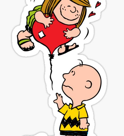 Patty and Charlie Sticker