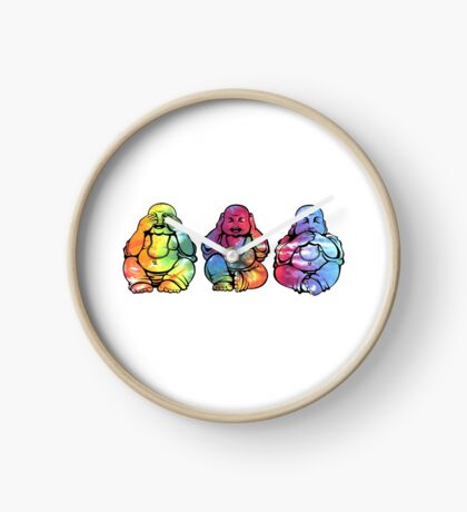 Buddhas: See no, Hear no, Speak no evil 2 Clock