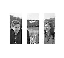 Charlie and Verena Photographic Print