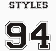 STYLES 94 (Black) Kids Tee