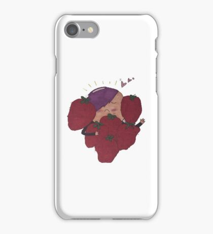 Strawberry Patch iPhone Case/Skin