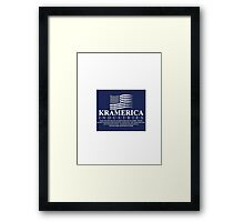 Kramerica Industries Shirts, Stickers and Posters Funny Spoof Framed Print