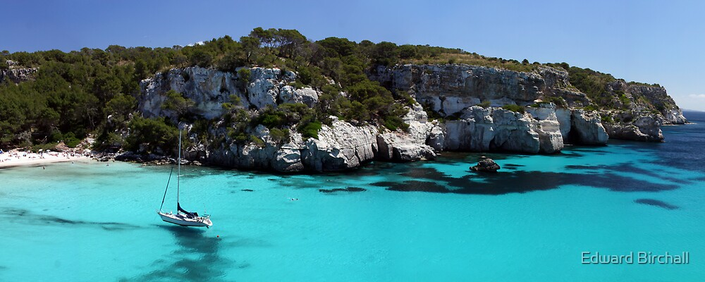 Macarella Beach, Menorca by Edward Birchall