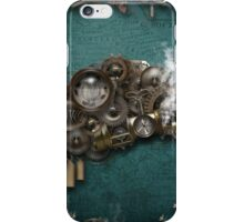 Steampunk On The Brain iPhone Case/Skin