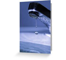 Waterdrop Greeting Card