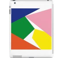 Colour planes iPad Case/Skin