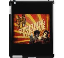 Something Awesome! iPad Case/Skin
