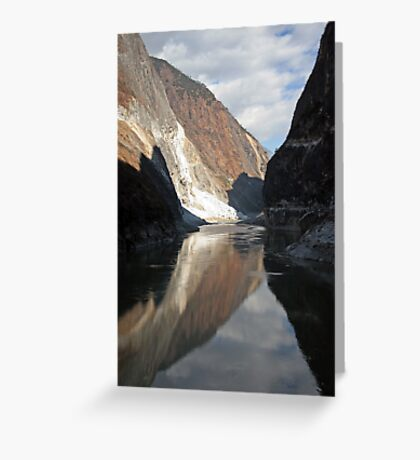 Tiger Leap Gorge Greeting Card