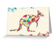 Mr Roo Greeting Card