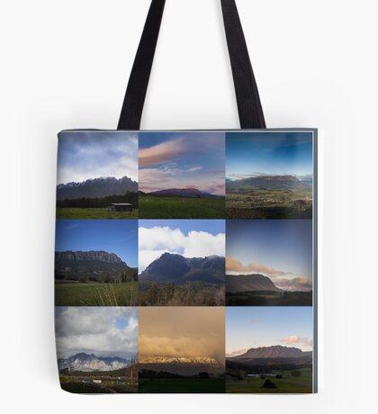 Mount Roland Montage Tote Bag