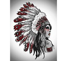 Red Indian - Color  Photographic Print