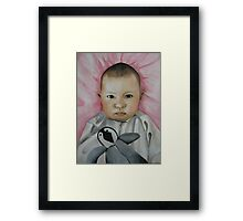Maya Kate Lama Framed Print