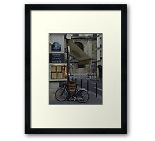 Paris Still Life Framed Print