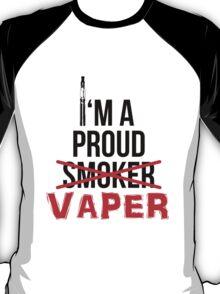 I'm a Proud Vaper (Ex-Smoker) T-Shirt