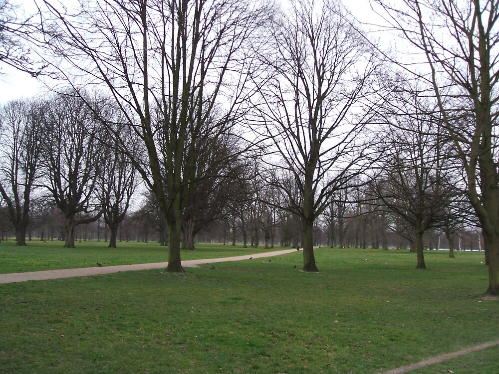 Kensington park in London by bethross