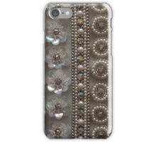 Beads and Sequins - Vintage Bling iPhone Case/Skin