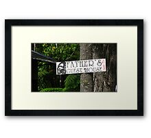Father's Guesthouse Framed Print