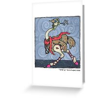 Tarted up Greeting Card