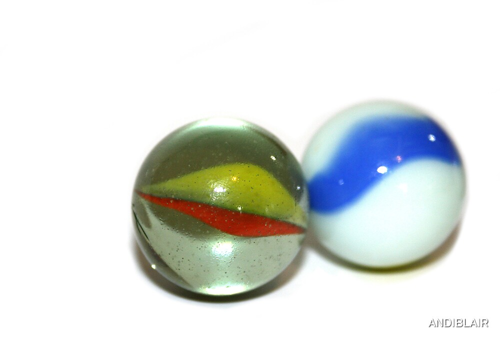 TWO MARBLES by ANDIBLAIR