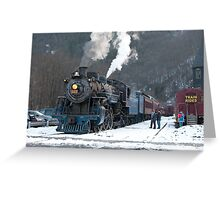 Steam Locomotive 425 Greeting Card