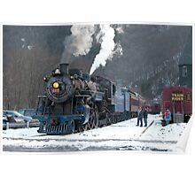 Steam Locomotive 425 Poster