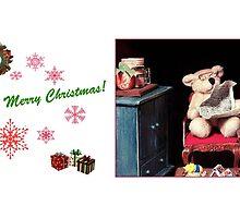Christmas Eve at Bernie's (mug) by Nadya Johnson