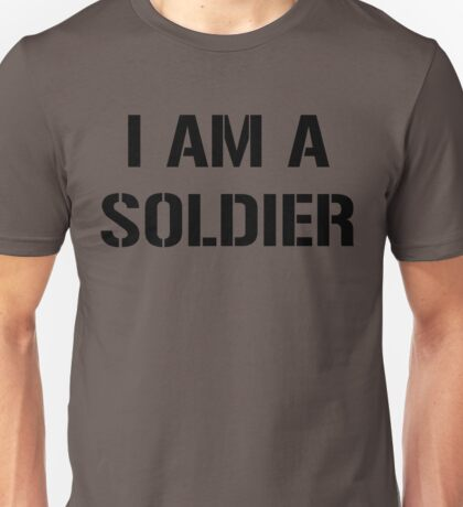 I am a Soldier, United States Army Unisex T-Shirt