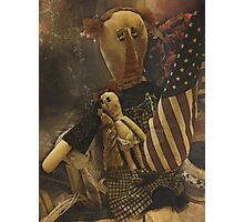Country Primitive Rag Doll Photographic Print