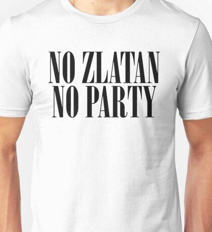 Manchester United - No Zlatan No Party Unisex T-Shirt