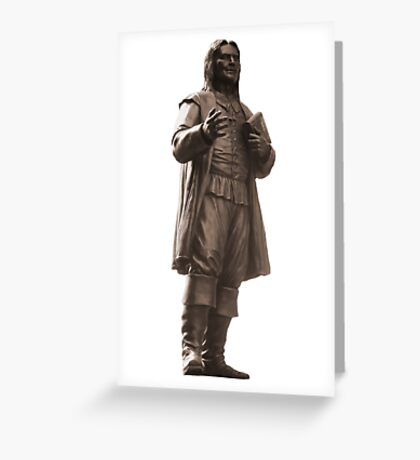 Roger Williams Statue Greeting Card