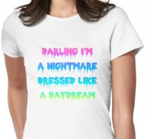 Blank Space Lyrics Design Womens Fitted T-Shirt