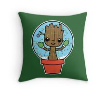 Rockin' Around the Grootmas Tree Throw Pillow