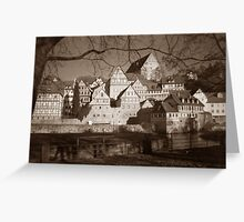 Home far away from Home Greeting Card